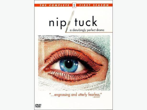 The complete first season of Nip Tuck DVD box set