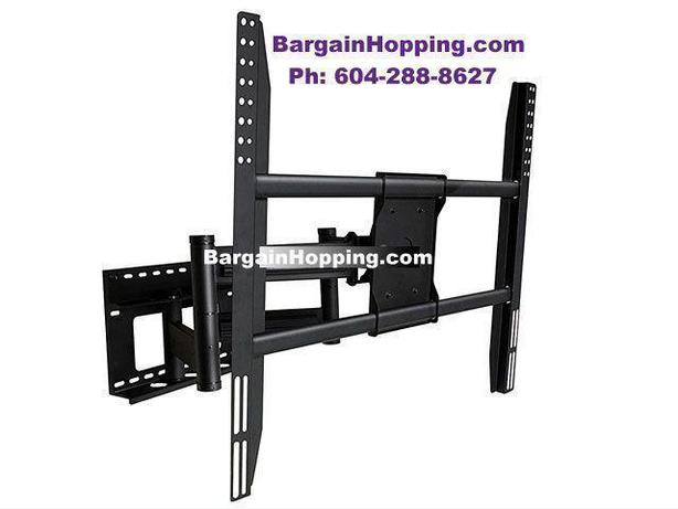 52-90 in Adjustable Tilting Swivel Pull Out TV Wall Bracket
