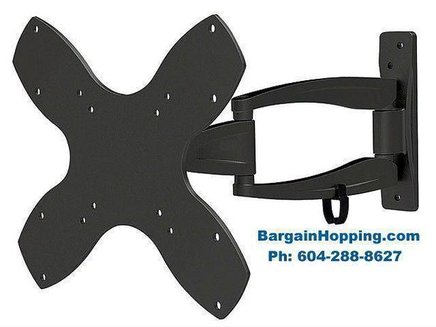 "17"" - 40"" 3-Way Adjustable Tilt & Swivel TV Wall Mount Bracket"