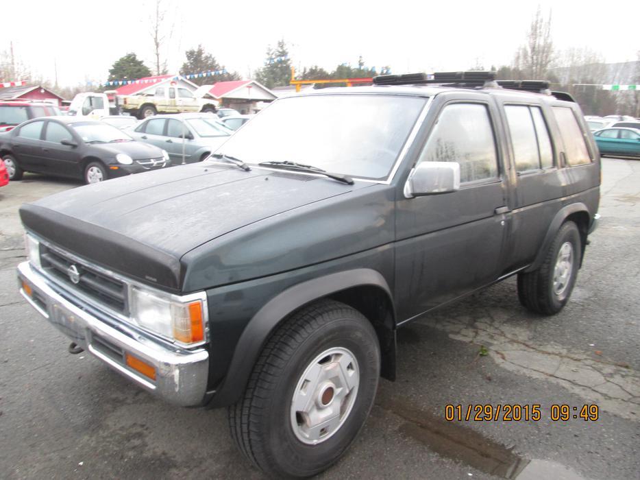 1994 Nissan Pathfinder Xe Outside Nanaimo Nanaimo