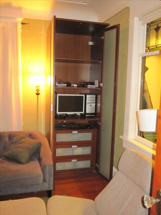 ikea hopen wardrobe victoria city victoria. Black Bedroom Furniture Sets. Home Design Ideas
