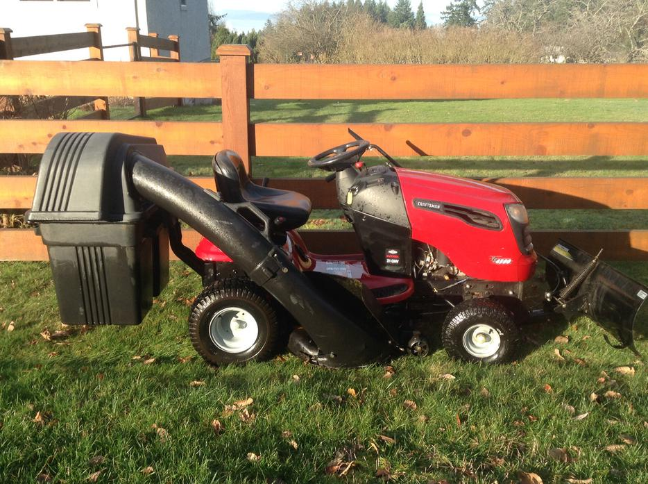 Craftsman Double Bagger : Craftsman hp quot cut with double bagger crofton