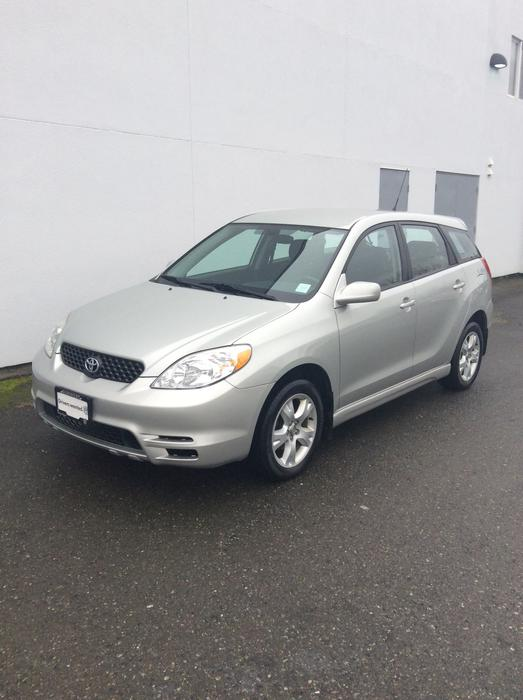 2003 toyota matrix xr awd courtenay comox valley mobile. Black Bedroom Furniture Sets. Home Design Ideas