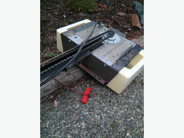 1 2 hp craftsman garage door opener maple bay cowichan for 12 foot garage door opener