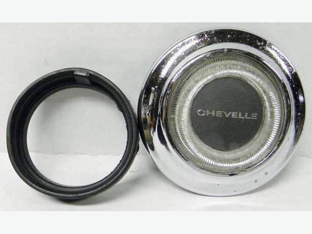 67 Chevy Chevelle Malibu El Camino Horn Cap Button