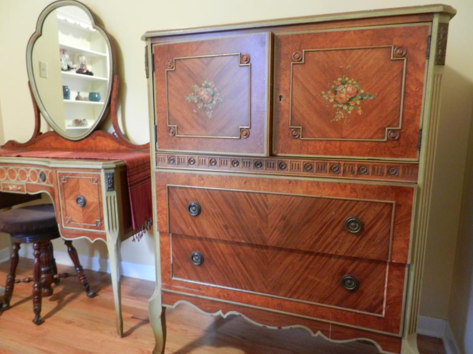 Antique Bedroom Set Courtenay Comox Valley