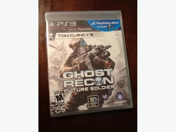 Ghost Recon Future Soldier (NEW, PS3)