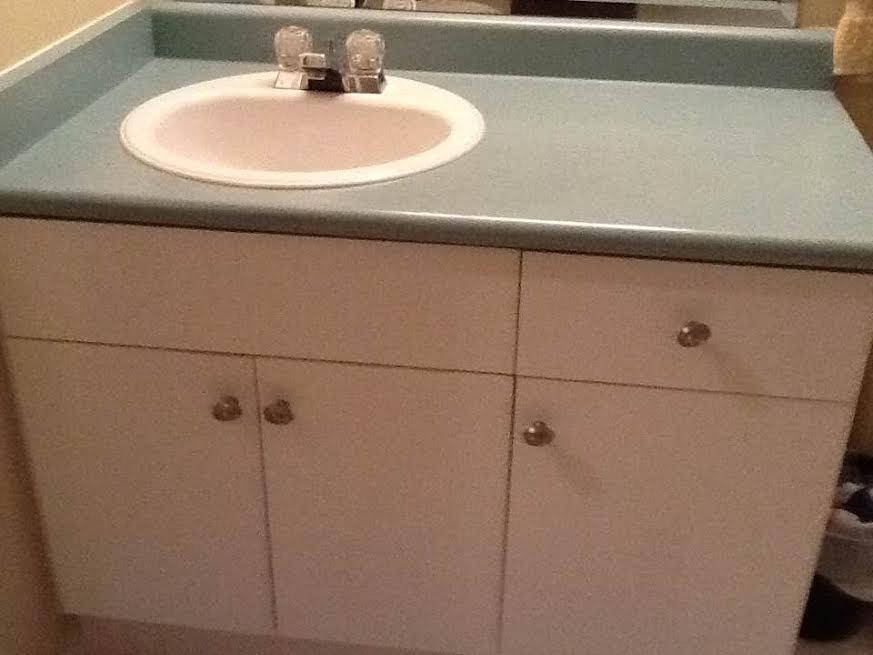 Bathroom Vanity With The Counter Top Facet North Nanaimo Nanaimo