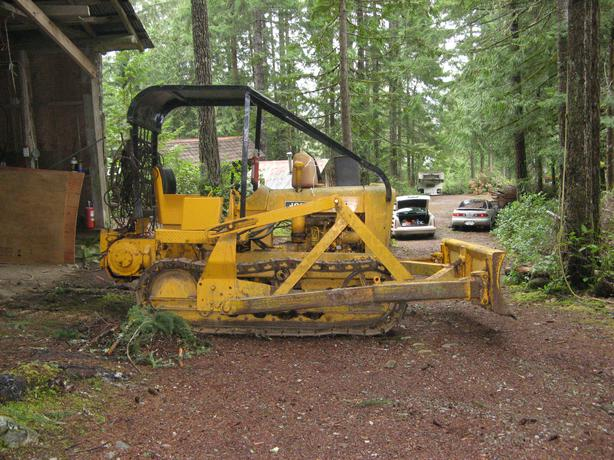 Jd 1010 Crawler Dozer : John deere crawler tractor lake cowichan