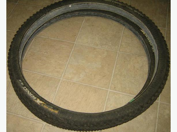 Continental King mountain bike tires