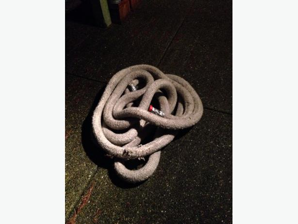 Battle ropes marine rope 60 ft saanich victoria for Heavy rope for nautical use