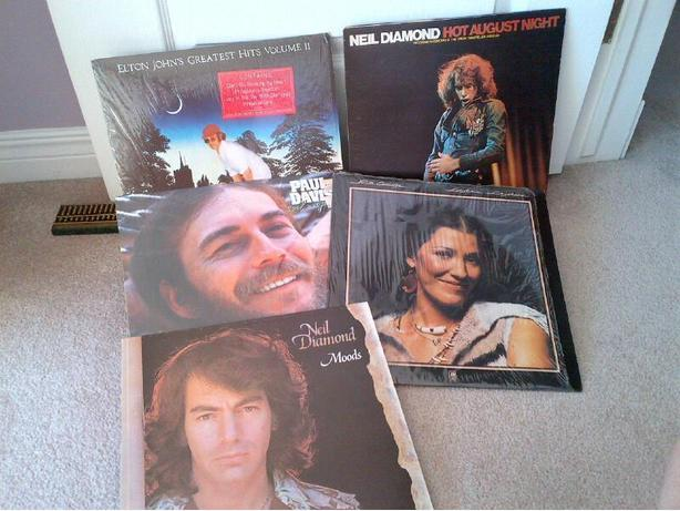 1970s and 1980s LPs