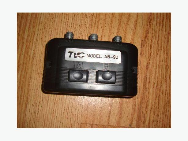 Like New TVC model AB-90 Cable TV Switch - $3