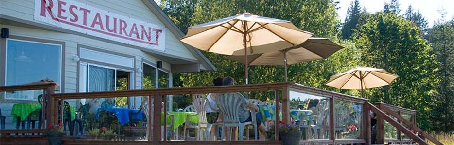 The Cove Restaurant Cortes Island