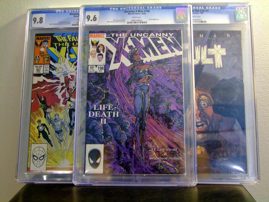 how to get a cgc book graded in toronto