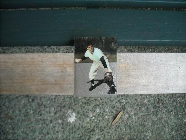 RARE.... PHIL RIZZUTO BASEBALL CARD....
