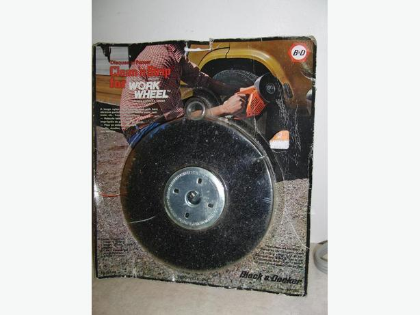 New Black & Decker Clean & Strip Work Wheel