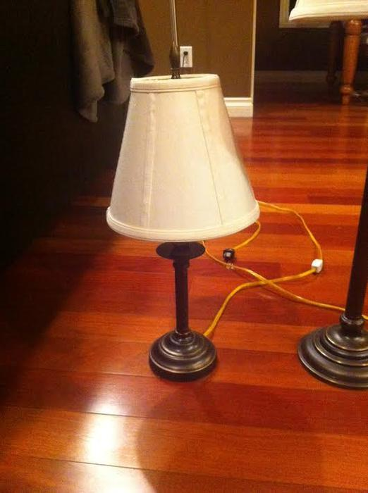 Set of four lamps for sale Parksville, Nanaimo