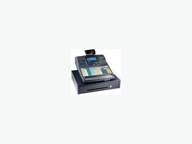 CASH REGISTER - TEC MA600, TWIN THERMAL,  KEYS , MANU