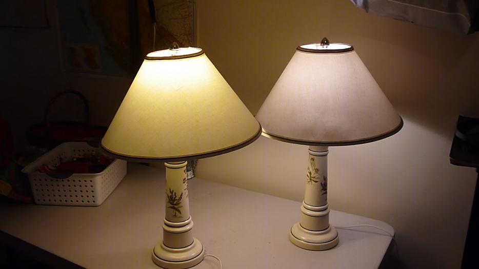 Pair of lamps Cowichan Bay, Cowichan