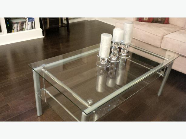 Glass Coffee Table End Table From Jysk Victoria City Victoria
