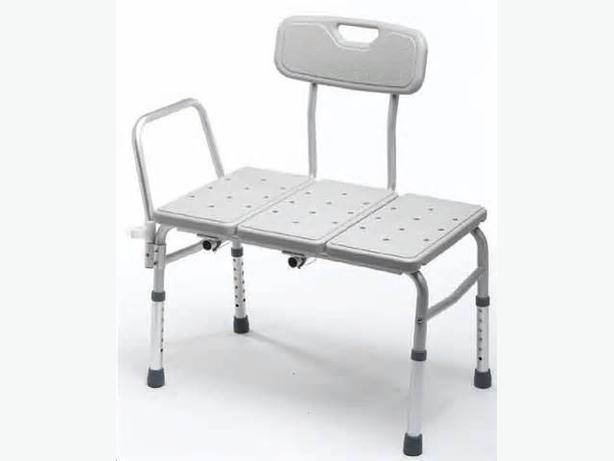 Bath Shower Transfer Bench Black Creek Comox Valley Mobile