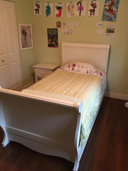 """Girls Twin Trundle Bed """"Shayna"""" Bedroom Collection From"""
