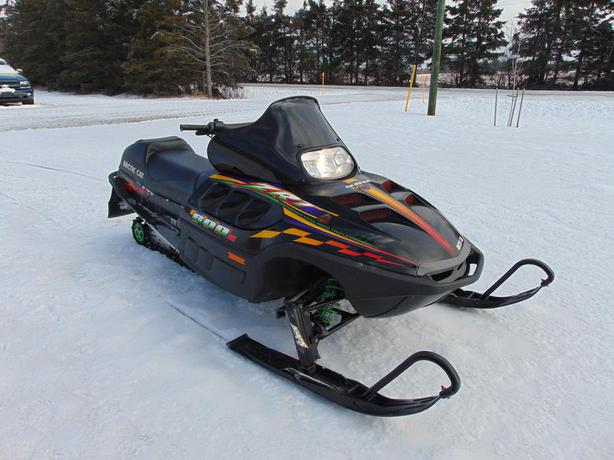 Arctic Cat Zrt  Triple