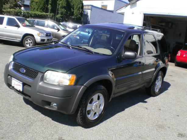 2003 ford escape xlt 4wd leather sunroof outside. Black Bedroom Furniture Sets. Home Design Ideas