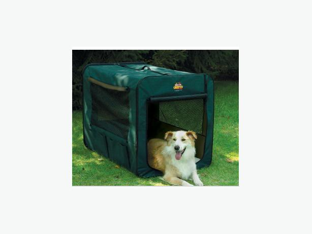 Soft sided extra large foldable dog crate fanny bay comox for Xl soft dog crate