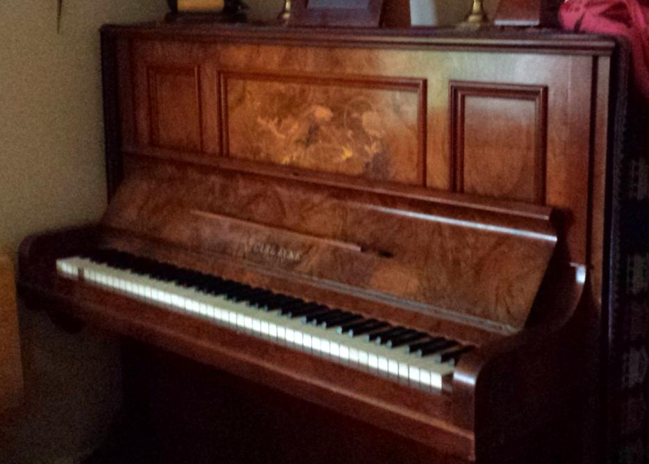 129 Year Old Full Size Upright Piano Comox Campbell River