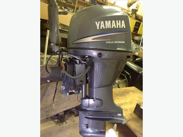2007 yamaha 50 hp 4 stroke outboard engine outside for Yamaha 50 hp 4 stroke parts