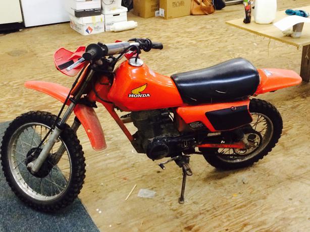 1983 honda 80cc dirt bike outside victoria victoria
