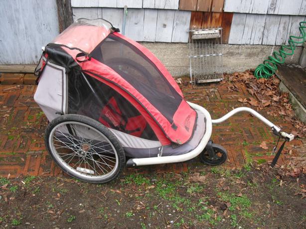 Mec Child Bike Trailer Single Victoria City Victoria