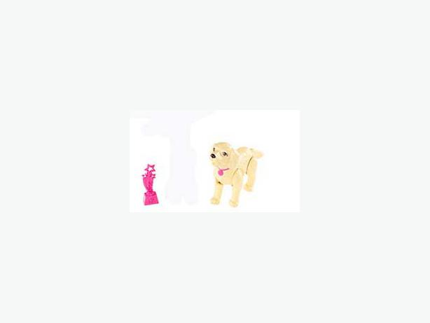 Like New Barbie Brand Dog and Trophy! $1