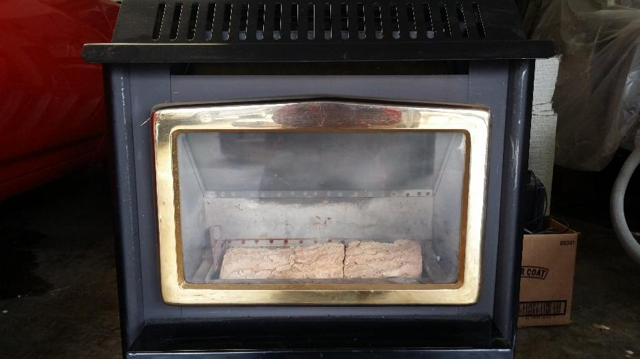 Stand Alone Osburn Gas Fireplace Central Nanaimo Parksville Qualicum Beach Mobile