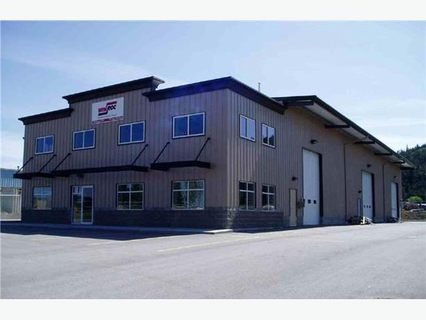 For Lease 12 500 Sqft Commercial Building Westbank Okanagan