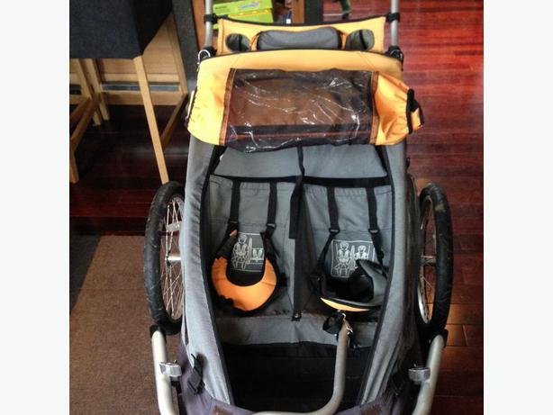 Mec Double Bike Trailer Stroller Saanich Victoria