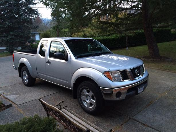 2008 nissan frontier 4x4 xe central saanich victoria. Black Bedroom Furniture Sets. Home Design Ideas