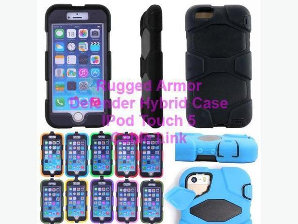 Armor Heavy Duty Defender Hybrid Case for IPod Touch 5