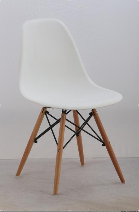 chaise white eames style chairs vintage modern chaises