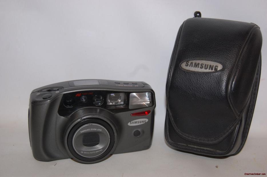 Samsung Af Zoom 105s 35mm Film Camera 38 105mm Zoom Lens