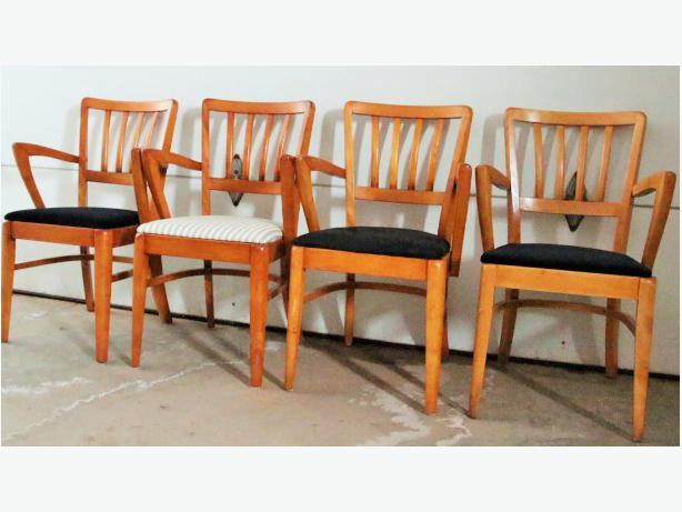 Vintage 4 Henderson Furniture St Lambert Quebec Arm Chairs
