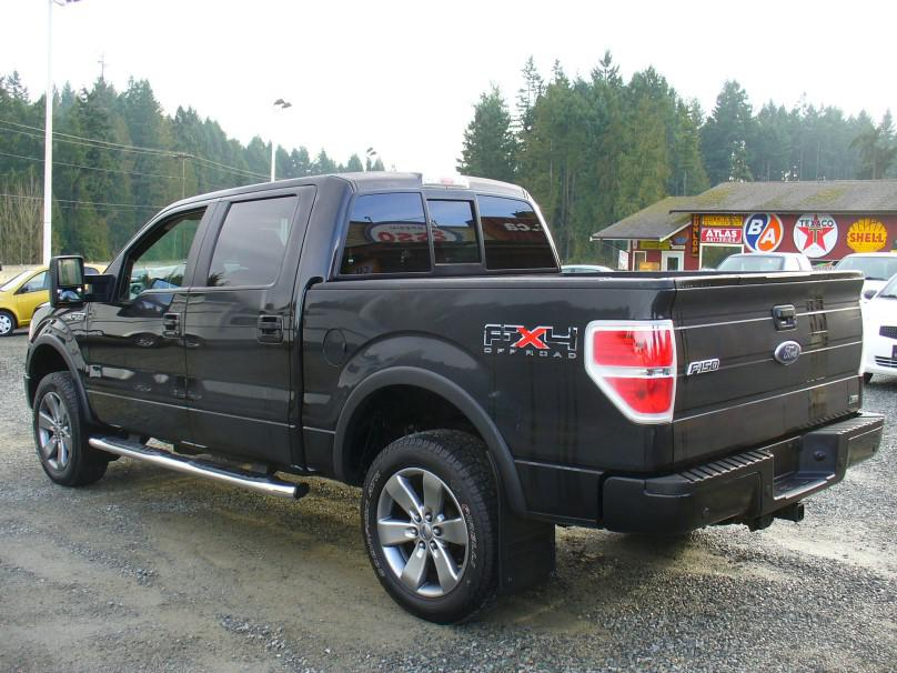 2010 ford f150 fx4 4x4 crew leather sync outside comox. Black Bedroom Furniture Sets. Home Design Ideas