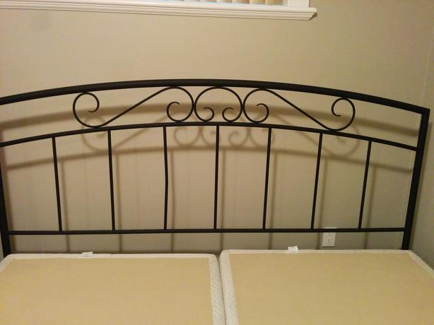 King Size Box Spring Bed Frame West Shore Langford