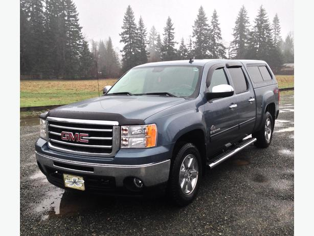 2013 gmc sierra sle 1500 z71 4x4 crew cab campbell river campbell river. Black Bedroom Furniture Sets. Home Design Ideas