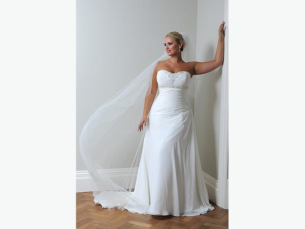 size 18 22 wedding dress lace up perfect for a plus size