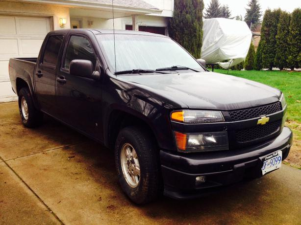 2006 chevy colorado crew cab 4 door courtenay courtenay comox. Black Bedroom Furniture Sets. Home Design Ideas