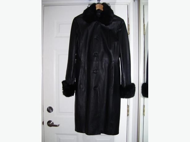 Quick Sale need money for physio ** Danier XS Full Lenght Leather Coat