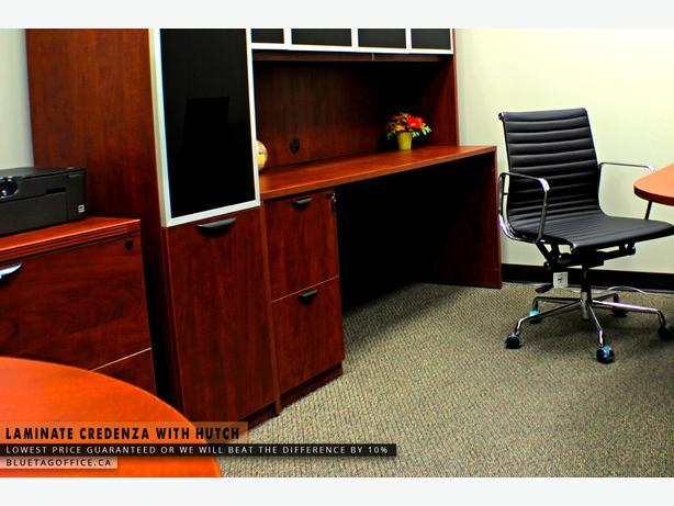 High quality office desk with hutch on sale olds sundre area red deer - Quality home office desk ...